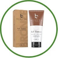 Self Tanner Beauty By Earth - Organic & Natural Sunless Tanning Lotion